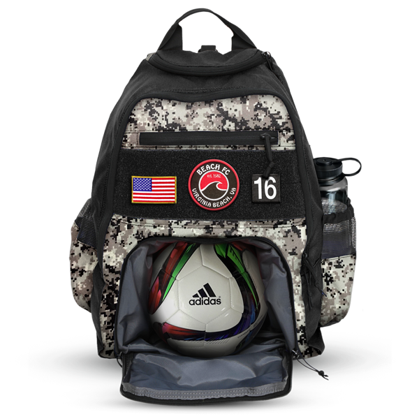 All-Pro Tactical Kick Series Soccer Pack - Beach FC Edition