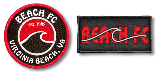 All-Pro Tactical Beach FC Soccer Rip-n-Stick Pride Patches
