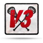 V3-Lacrosse League Rip & Stick Pride Patch