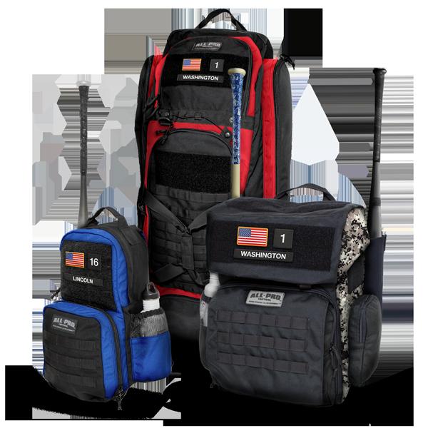 All-Pro Tactical Hardball Series Baseball & Softball Bags