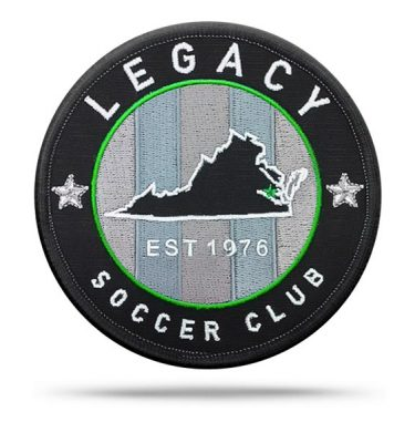 Virginia Legacy All-Pro Rip & Stick Pride Patch