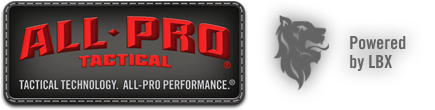 All-Pro Tactical - Tactical Technology. All-Pro Performance. Powered by LBX.