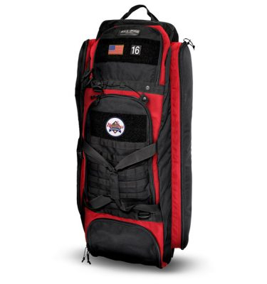 All-Pro Tactical Hardball Series Rolling Loadout Bag - Nations Baseball Edition