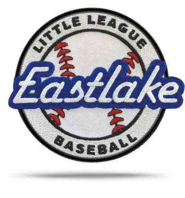 Eastlake Little League Rip & Stick Pride Patch