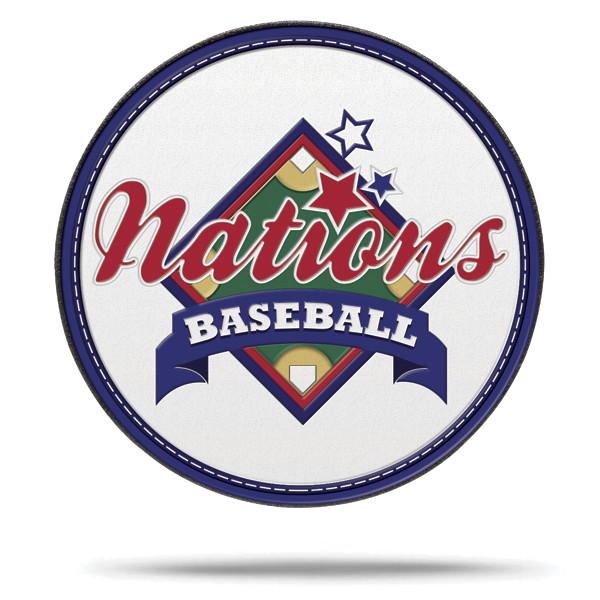 Nations Baseball Rip & Stick Pride Patch