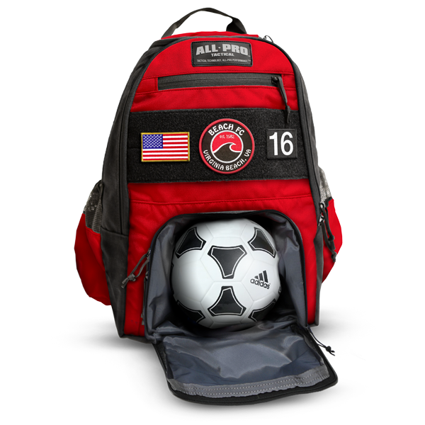 All-Pro Tactical Soccer Backpack - Beach FC Edition