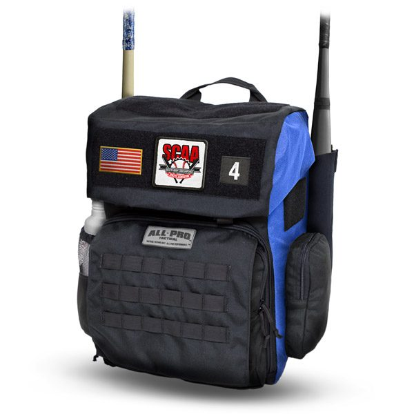 All-Pro Tactical Hardball Series Large Batpack - SCAA Edition