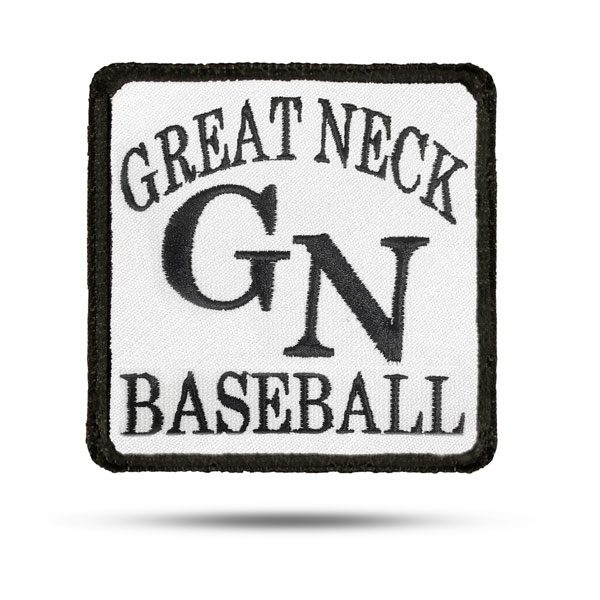 Great Neck Baseball Rip & Stick Pride Patch
