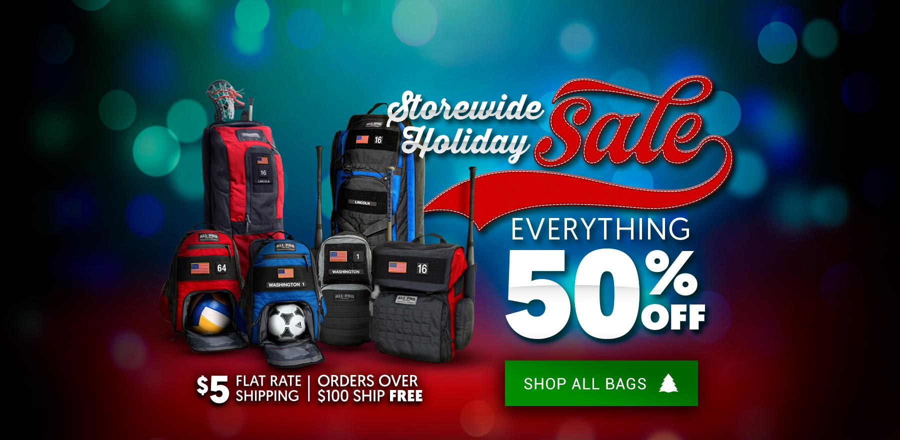 All-Pro Tactical | Holiday Sale - 50% Storewide Savings