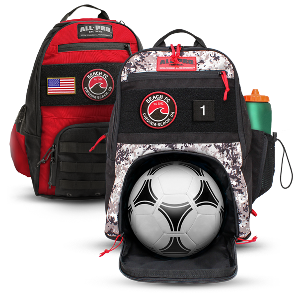All-Pro Tactical Beach FC Edition Bags & Packs