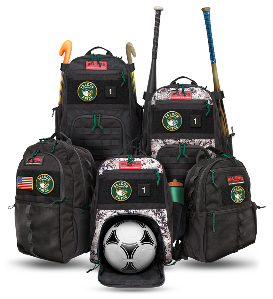 All-Pro Tactical Cox Falcon Edition Bags