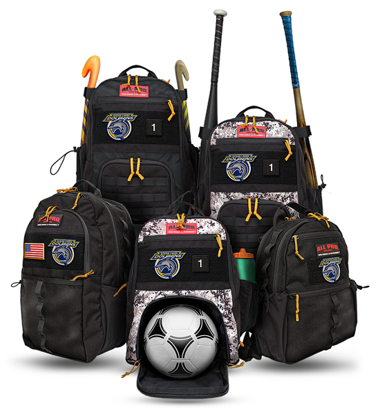All-Pro Tactical Ocean Lakes Dolphins Edition Bags
