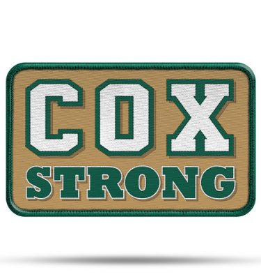 All-Pro Tactical Cox High School Rip-n-Stick Pride Patch