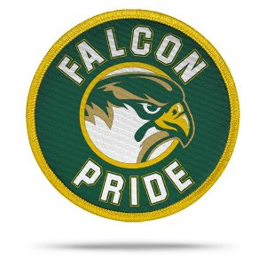 All-Pro Tactical COX High School Falcon Pride Rip-n-Stick Pride Patch
