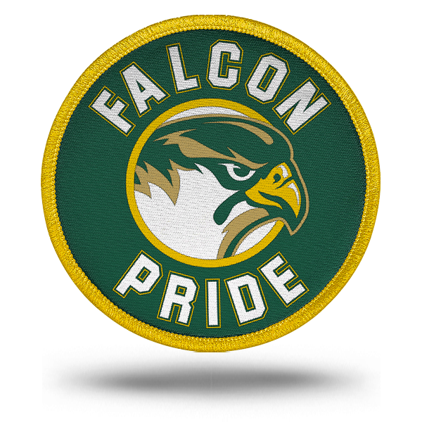 All-Pro Tactical Cox High School Rip-n-Stick Falcon Pride Patch