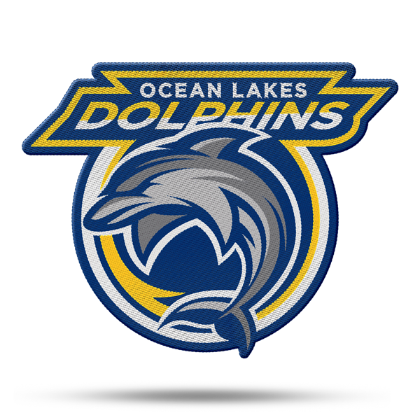 All-Pro Tactical Ocean Lakes Dolphins Rip-n-Stick Pride Patch