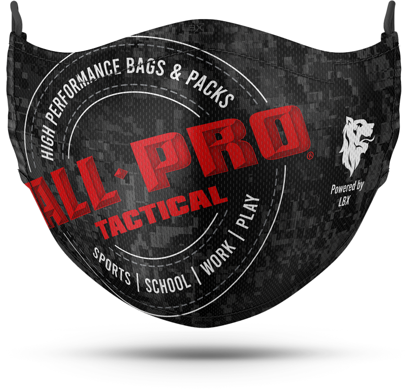All-Pro Sublimated Mask with Milliken Biosmart Fabric
