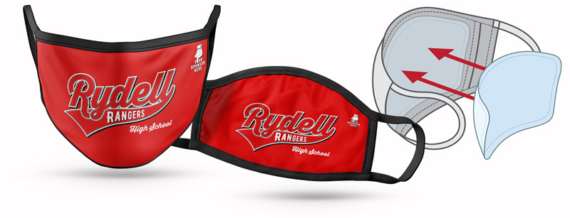 All-Pro Sublimated Cloth Face Mask