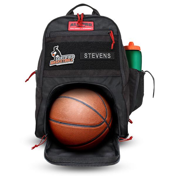 All-Pro Tactical Certified Basketball Edition SUB Sport Utility Bag - Black
