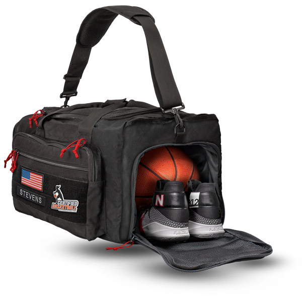 All-Pro Tactical Certified Basketball EditionSUB Sport Utility Duffle Bag - Black