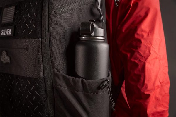 Our favorite home for Hydro Flasks, water bottles, loose change and snacks. Load'em up and chinch'em tight.